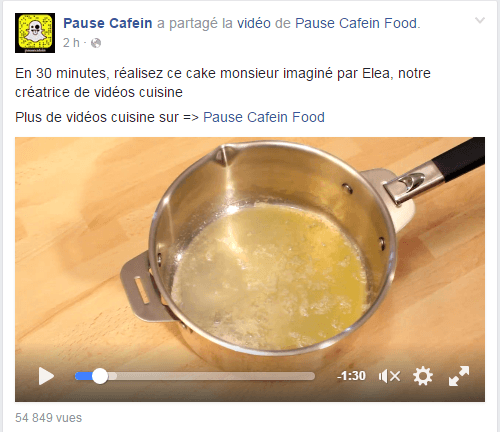 Recette Pause Cafein
